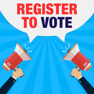 Voter Registration at The Buzz Mill
